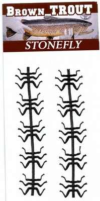 Black Stonefly legs