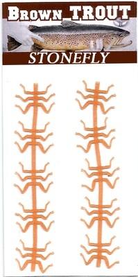 Orange Stonefly legs