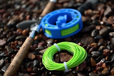 Bundle Kit - Competition overhead salmon line + Spey 18 reel + 50m Running