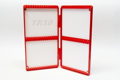 """Flybox with tied tippet - """"Standard-122"""""""