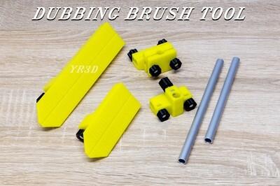 Fly tying Dubbing Brush Tool