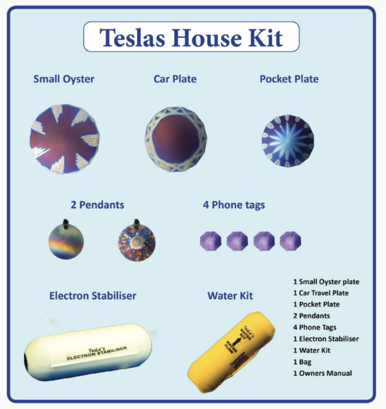 The Teslas House Kit