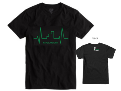 XX LARGE - Men's Heart Beat t-shirt