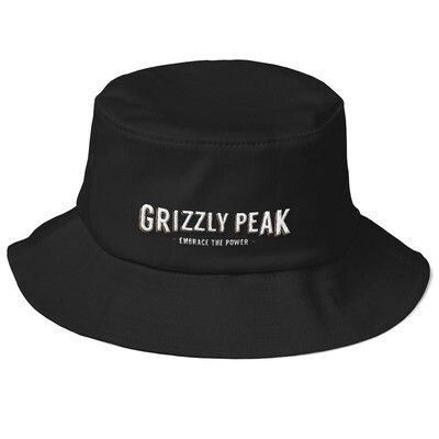 GP Wide Icon Old School Bucket Hat