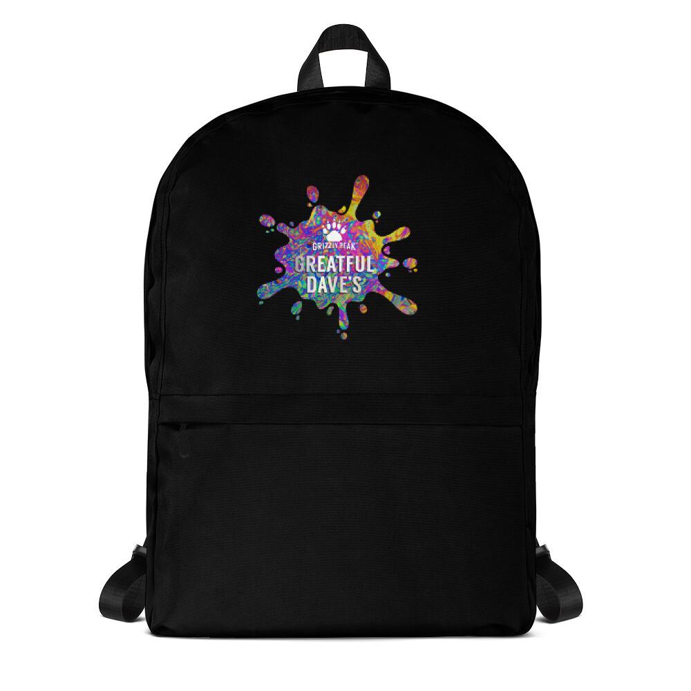 Greatful Dave's Splatter Backpack