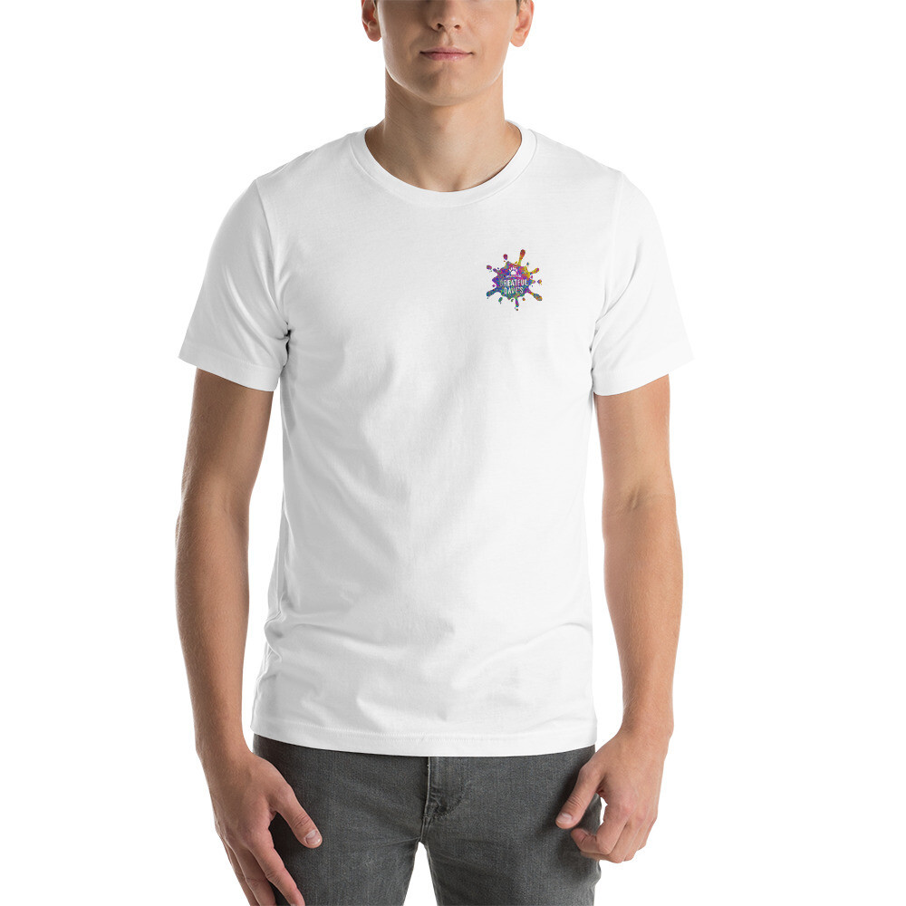 Greatful Dave's Splatter Logo - Short-Sleeve Unisex T-Shirt