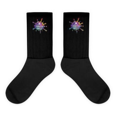 Greatful Dave's splatter Socks
