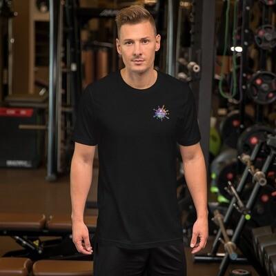 Greatful Dave's Splatter Logo- big back! - Short-Sleeve Unisex T-Shirt