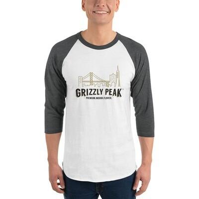 Grizzly Peak 3/4 sleeve raglan shirt