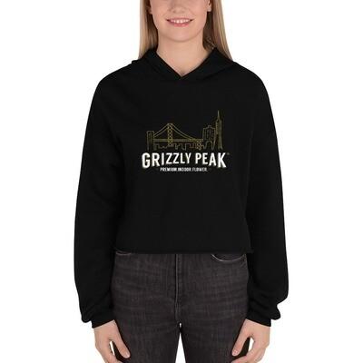 Grizzly Peak Crop Hoodie