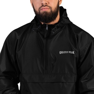 Grizzly Peak Embroidered Champion Packable Jacket