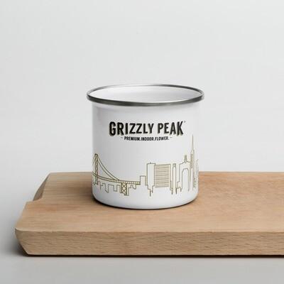 Grizzly Peak Enamel Mug