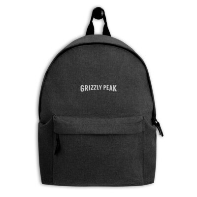 Grizzly Peak Embroidered Backpack