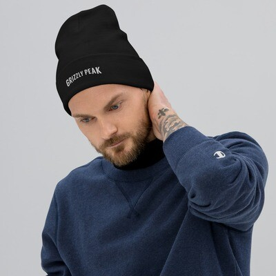 Grizzly Peak Embroidered Beanie