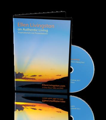 Authentic Living - Set of 4 dvd's of Ellen's hr-long Talks
