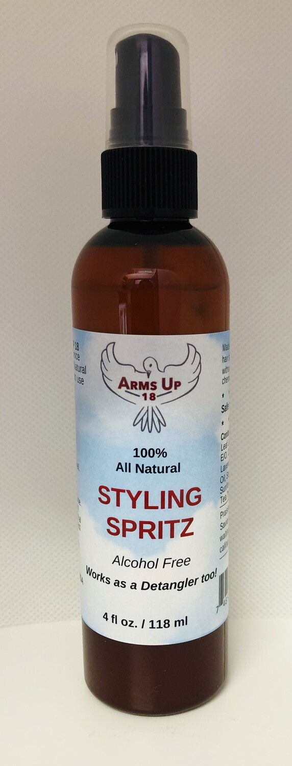 100% All Natural Styling Spritz