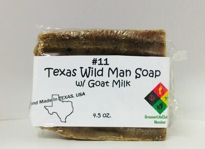 Texas Wild Man Soap w/Goat Milk
