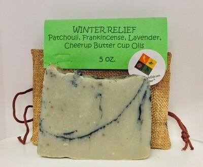 Winter Relief Goat Milk Soap