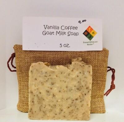 Vanilla Coffee Goat Milk Soap