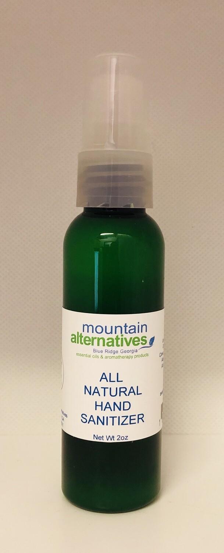 All Natural Hand Sanitizer