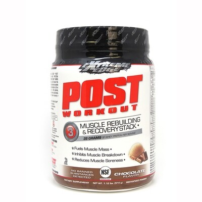Extreme Edge Post Workout Muscle Rebuilding & Recovery Stack Chocolate flavored