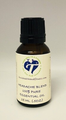Headache Blend 100% Pure Essential Oil