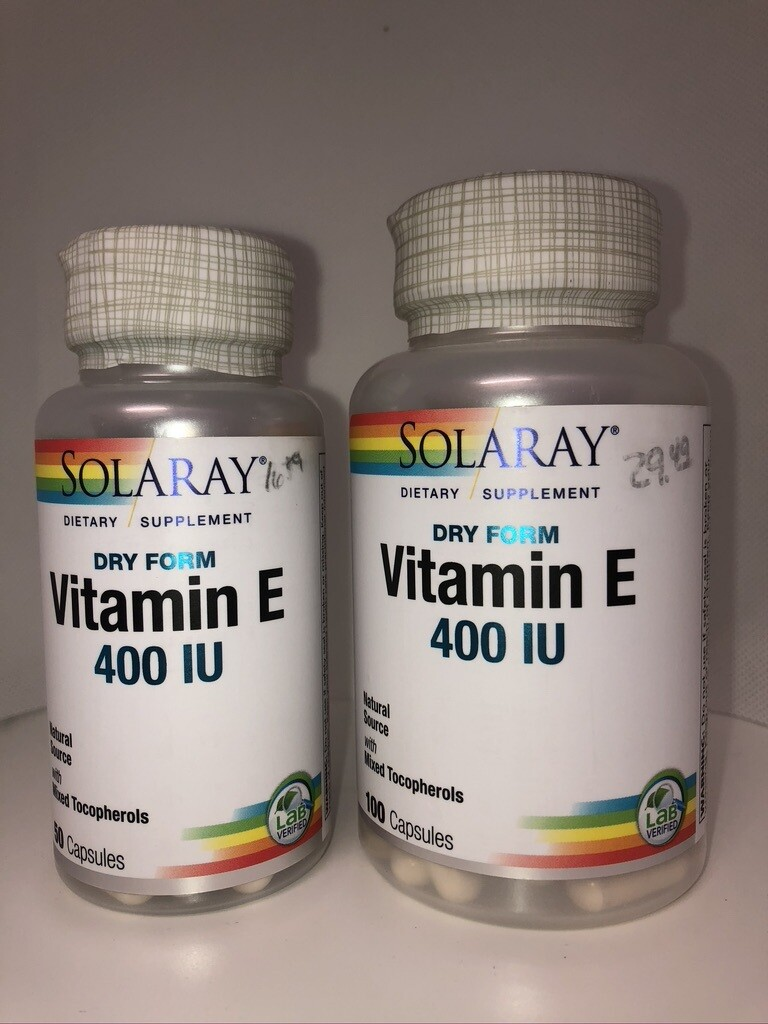 Vitamin E 400 IU Dry Form
