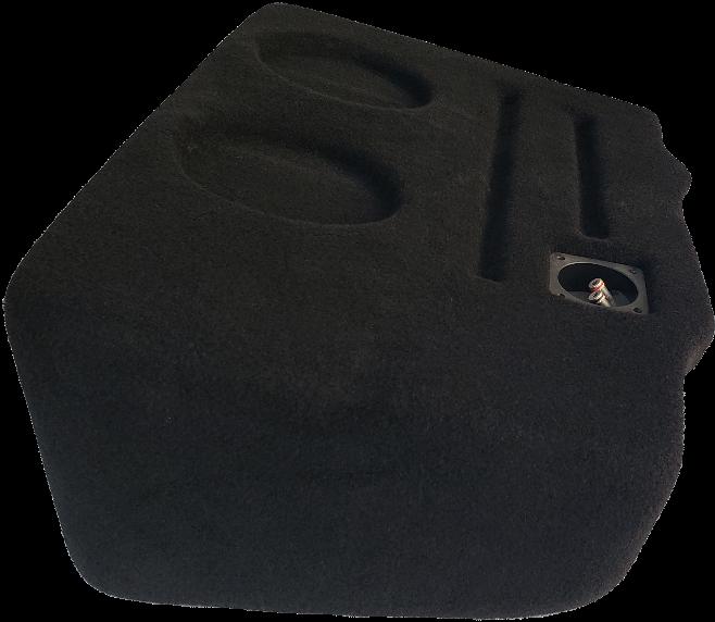 "2019/up GMC Sierra Crew Cab Dual 6.5"" Ported ProFit Subwoofer Enclosure"