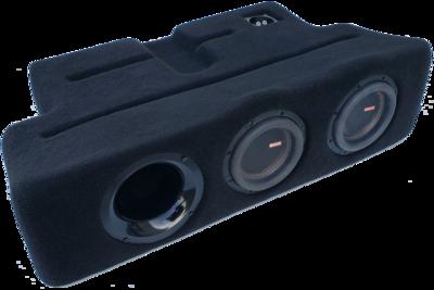 """2017-19 Ford F250-450 Dual - 6.5"""" Ported ProFit Subwoofer Enclosure PF17F250D65P"""