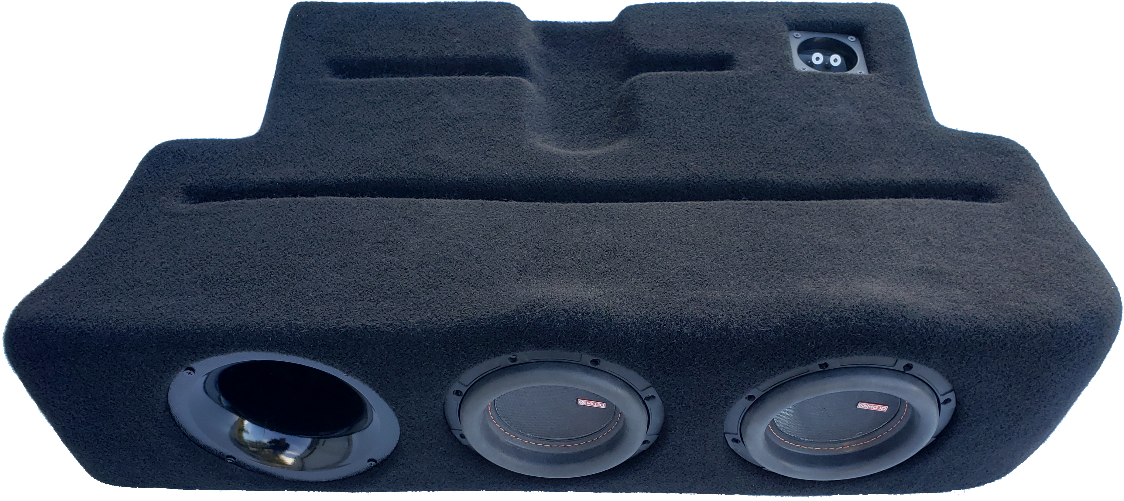 "2017-19 Ford F250-450 Dual - 6.5"" Ported ProFit Subwoofer Enclosure"