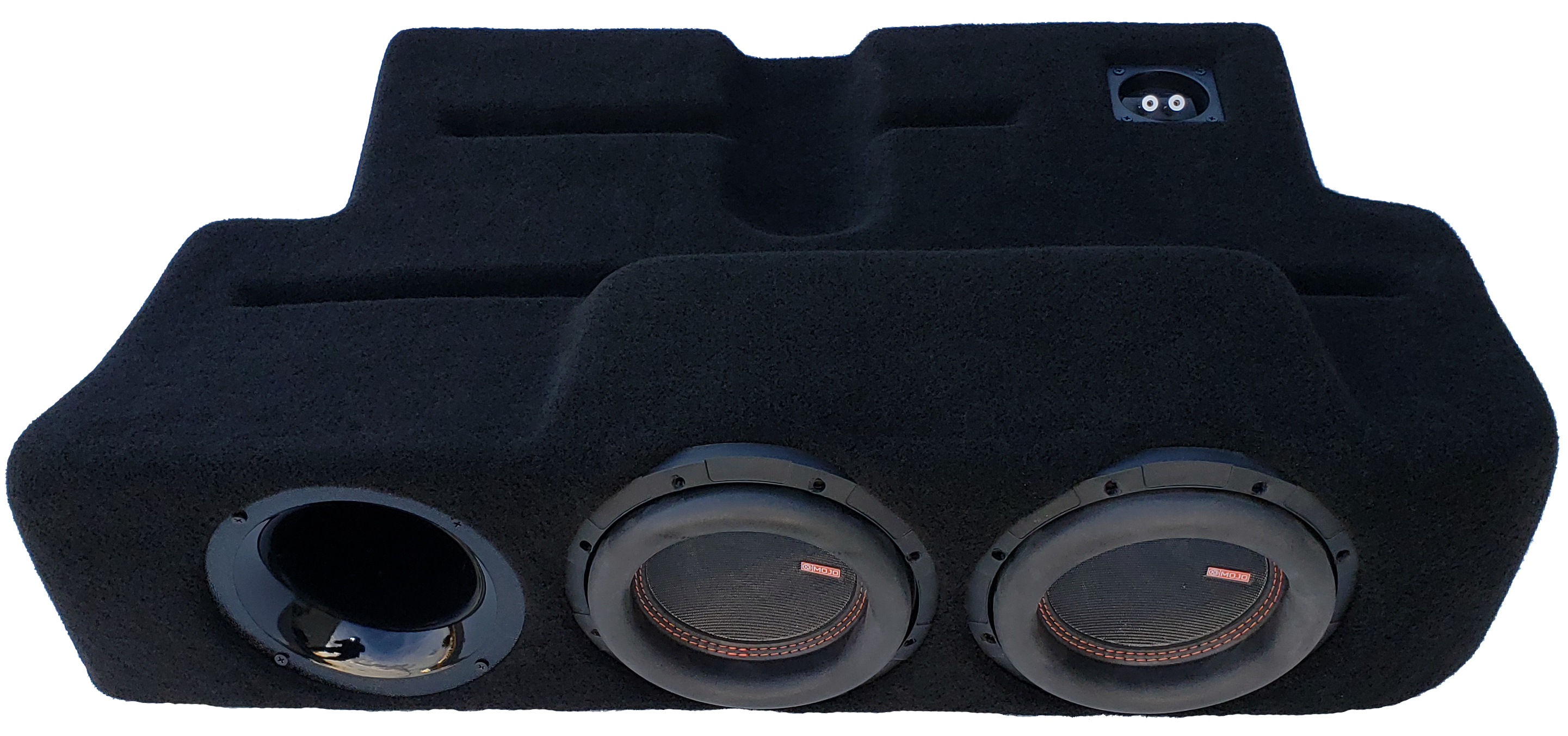 "2017-19 Ford F250-450 Dual - 8"" Ported ProFit Subwoofer Enclosure"