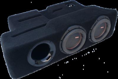 """2017-19 Ford F250-450 Dual - 8"""" Ported ProFit Subwoofer Enclosure PF17F250D8P"""