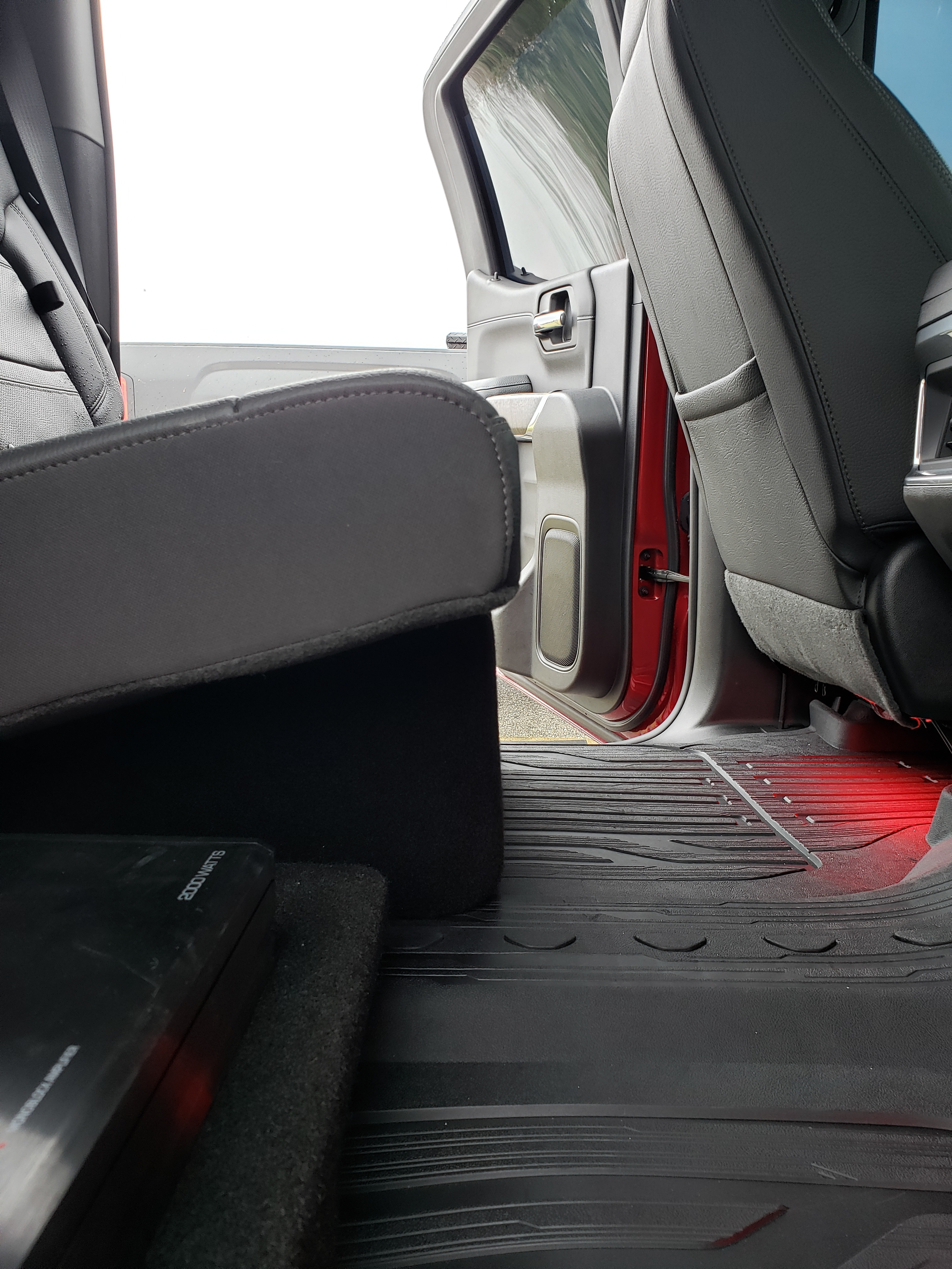"2019/up GMC Sierra Crew Cab Dual 8"" Ported ProFit Subwoofer Enclosure"