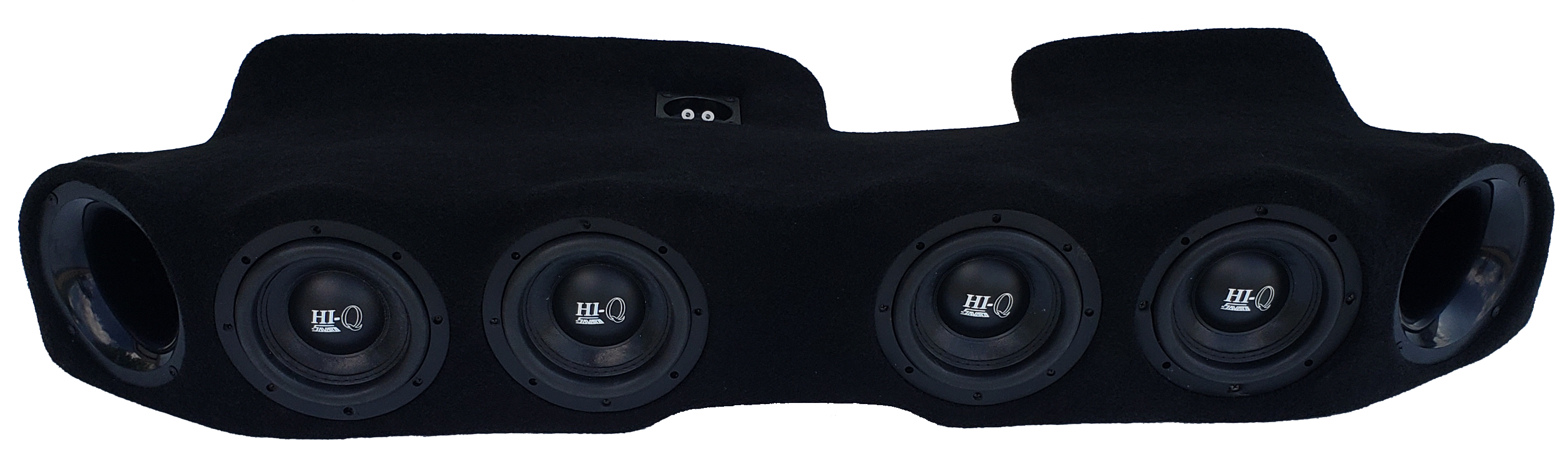 "2020 Jeep Gladiator QUAD 6.5"" Ported Subwoofer Enclosure"