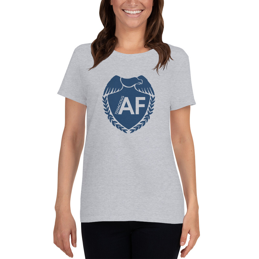 Tenacious AF short sleeve t-shirt - women