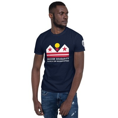 Denver Solidarity March on Washington T-shirt