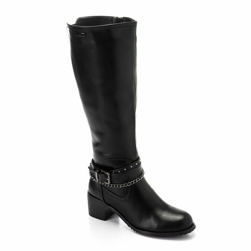 3294High Boot - Black