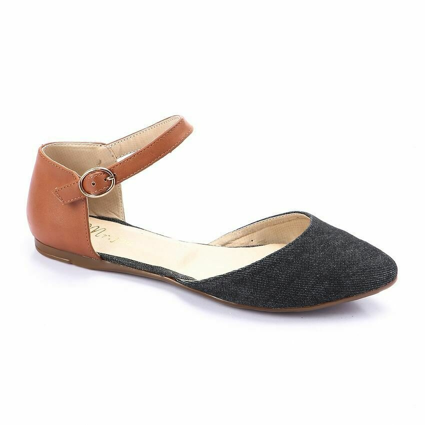 3248 Ballet Flat Shoes  Black