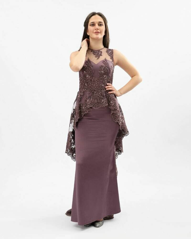 8373 Soiree Dress - Purpule