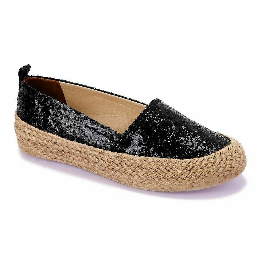 3365 Casual Sneakers - Black Glitter