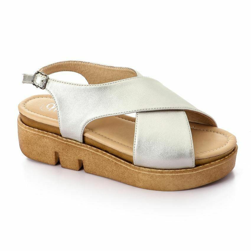 3343 Sandal - Silver