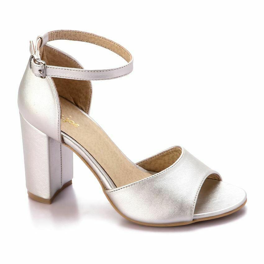 3344 Heels - Silver