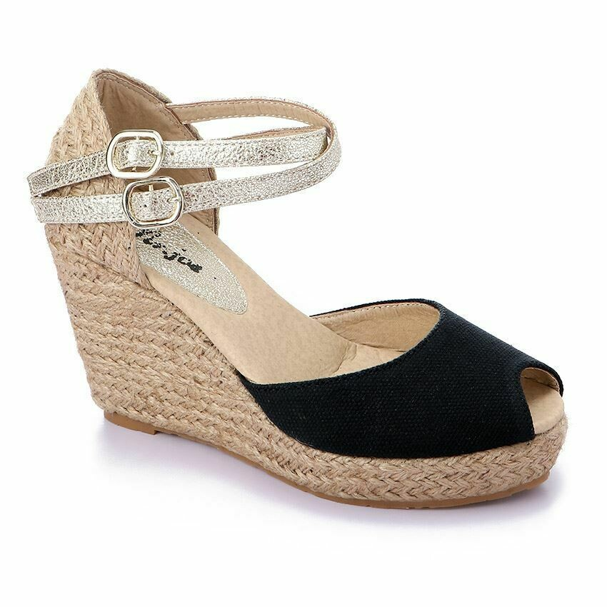 3366 Sandal - Black