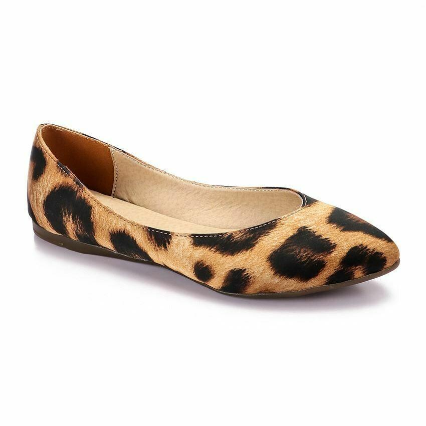 3357 Ballet Flat Shoes - Tiger