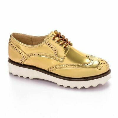 3377 Shoes - Light Gold