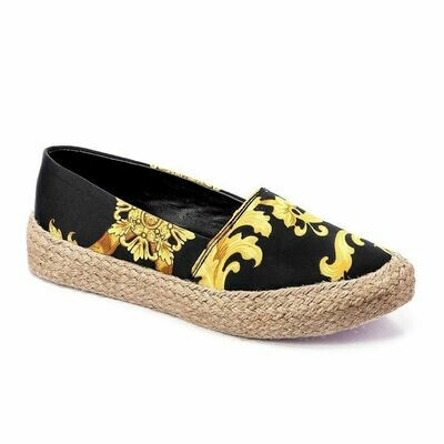 3365 Casual Sneakers - Black*Gold