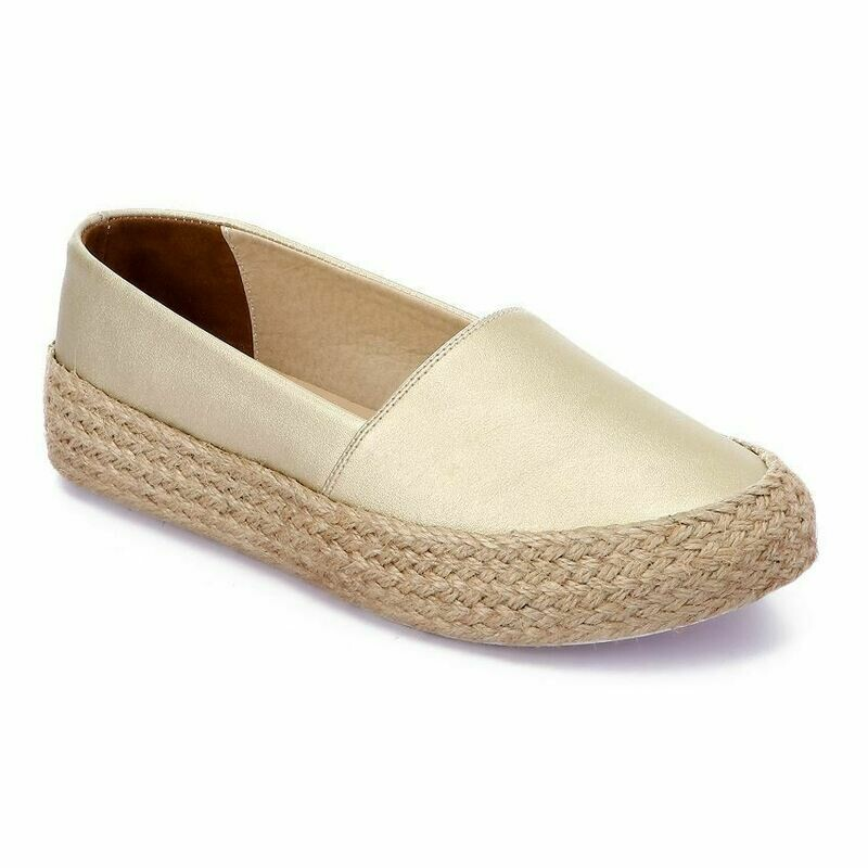 3365 Casual Sneakers - Gold Leather
