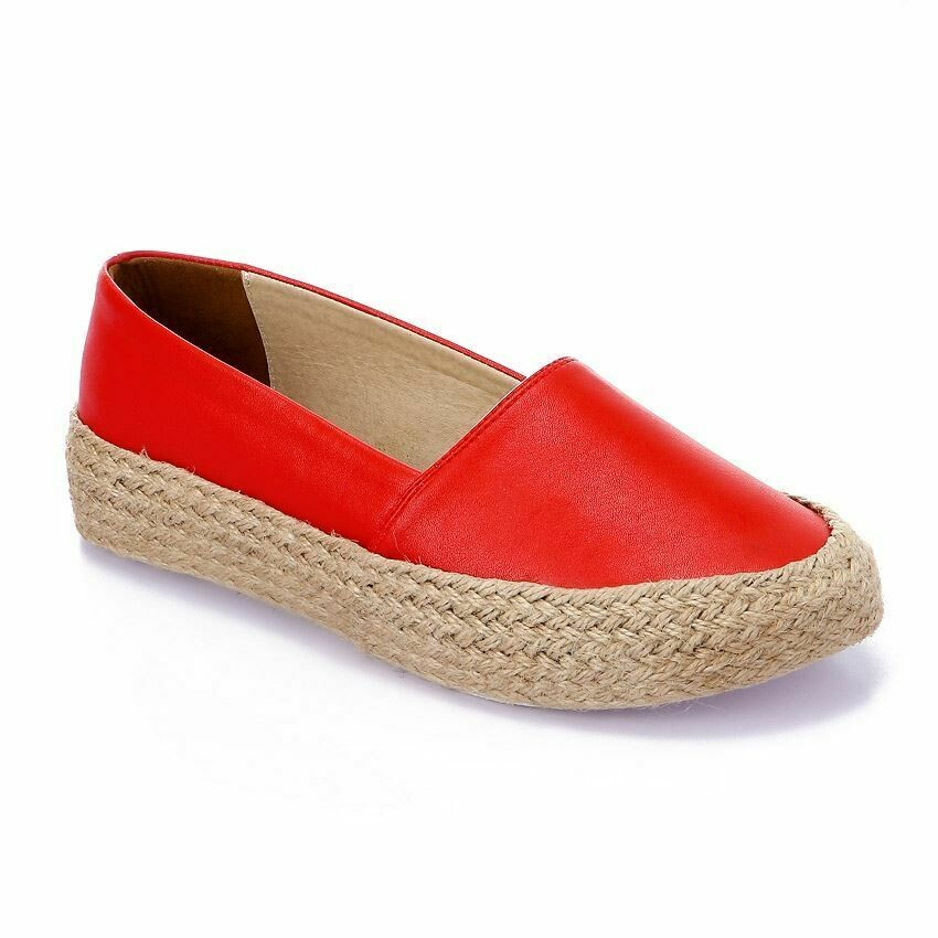 3365 Casual Sneakers - Red Leather