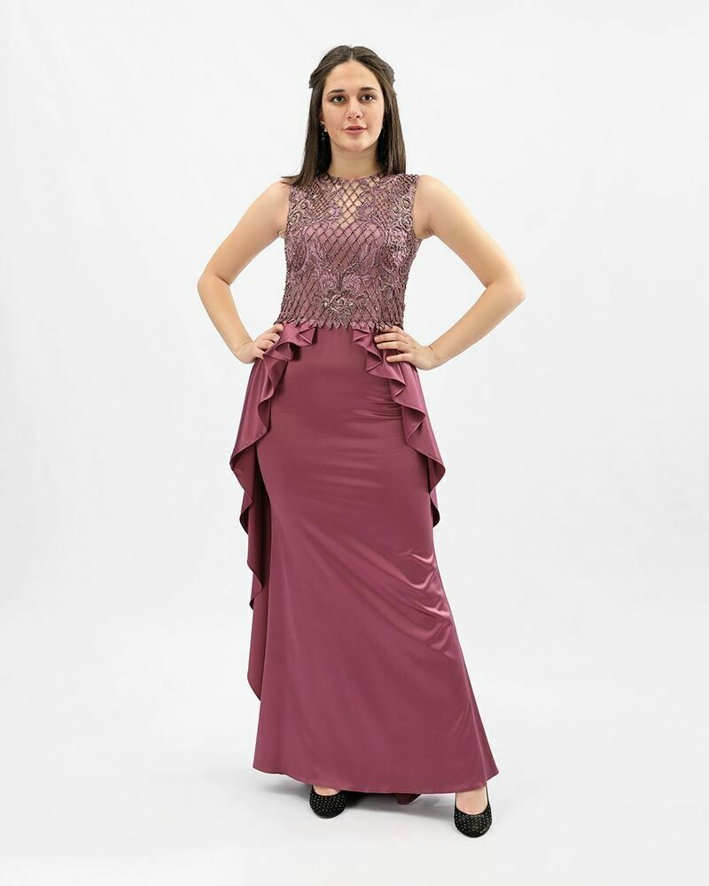 8369 Soiree Dress - Purple