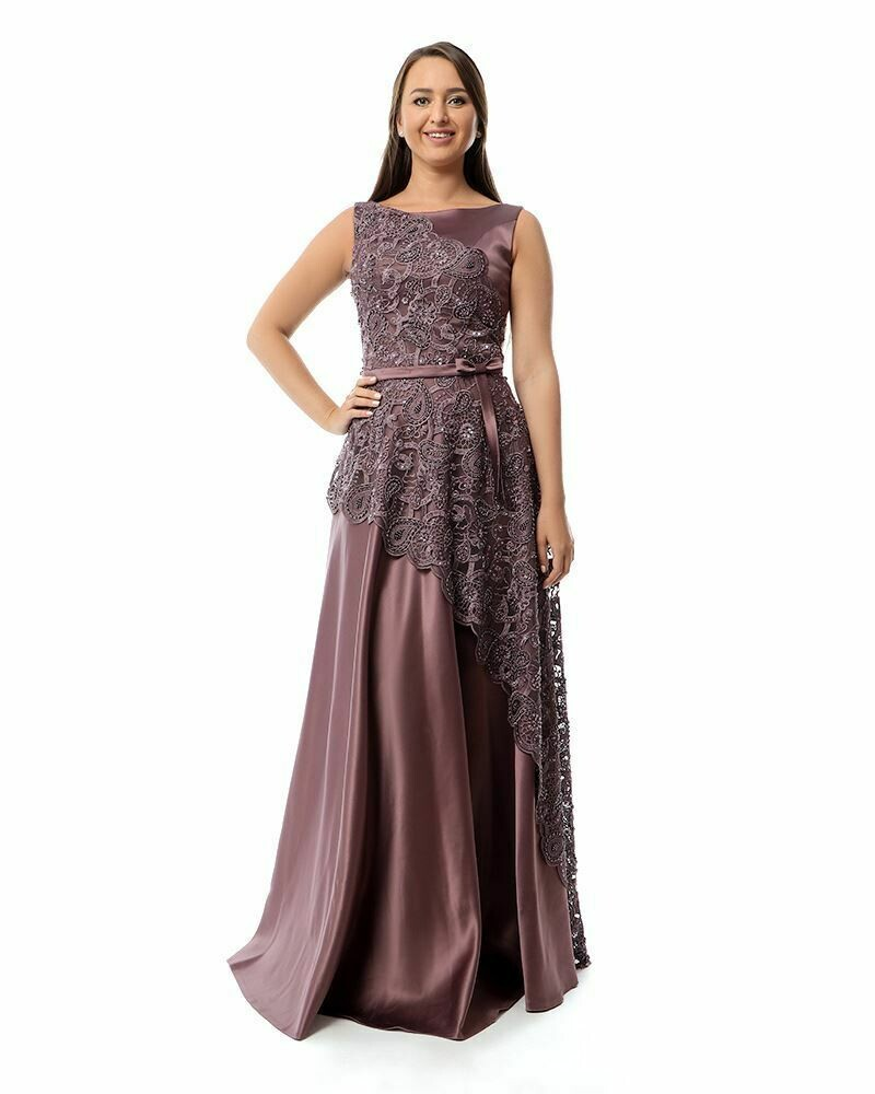 8432 Soiree Dress - Purpule